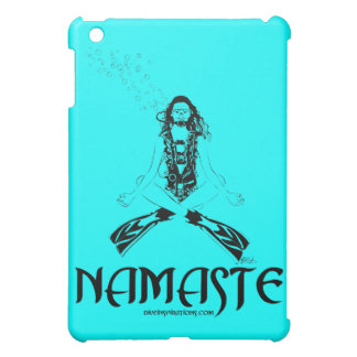 Namaste Scuba Yoga iPad Mini Case
