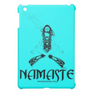 Namaste Scuba Yoga iPad Mini Cover