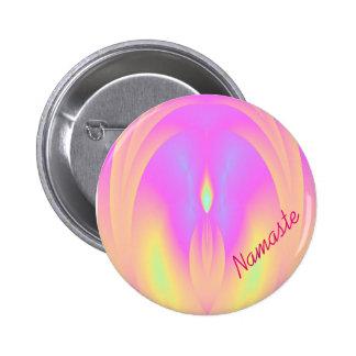 Namaste Speaker Yoga Reiki Button Buttons