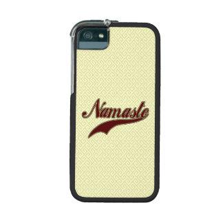 Namaste Stylish Red Burgundy Cover For iPhone 5