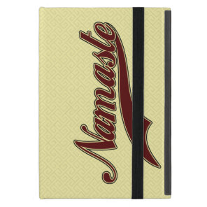Namaste Stylish Red Burgundy Case For iPad Mini