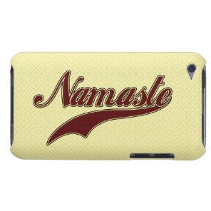 Namaste Stylish Red Burgundy Case-Mate iPod Touch Case