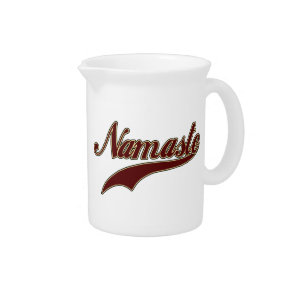 Namaste Stylish Red Burgundy Drink Pitcher