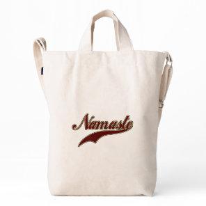 Namaste Stylish Red Burgundy Duck Bag