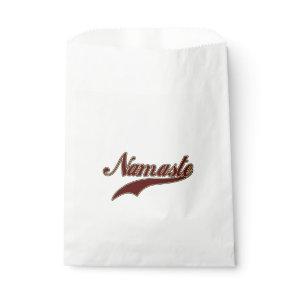 Namaste Stylish Red Burgundy Favor Bag