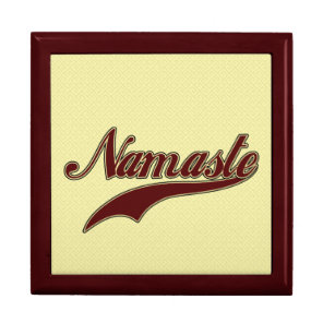 Namaste Stylish Red Burgundy Gift Box