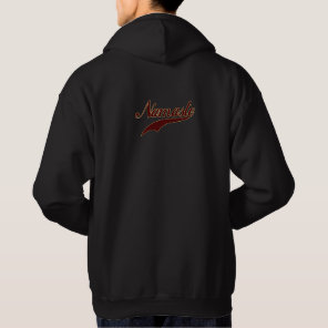 Namaste Stylish Red Burgundy Hoodie