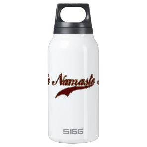 Namaste Stylish Red Burgundy Insulated Water Bottle
