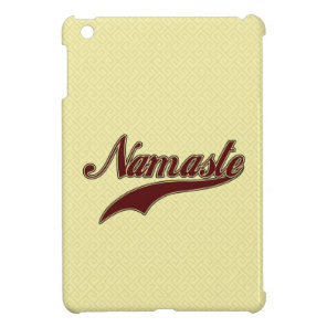 Namaste Stylish Red Burgundy iPad Mini Case