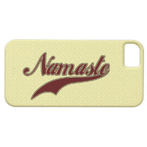 Namaste Stylish Red Burgundy iPhone SE/5/5s Case