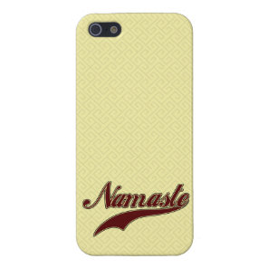 Namaste Stylish Red Burgundy iPhone SE/5/5s Cover