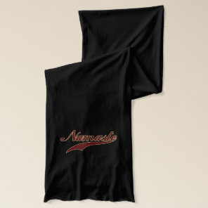 Namaste Stylish Red Burgundy Scarf