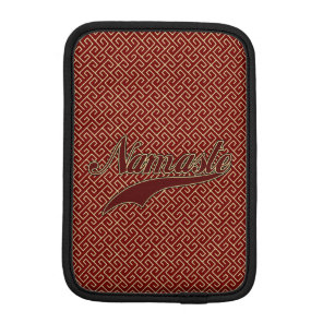 Namaste Stylish Red Burgundy Sleeve For iPad Mini