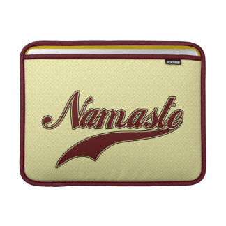 Namaste Stylish Red Burgundy Sleeve For MacBook Air
