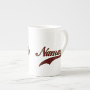 Namaste Stylish Red Burgundy Tea Cup