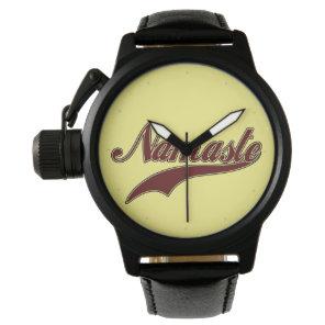 Namaste Stylish Red Burgundy Watch