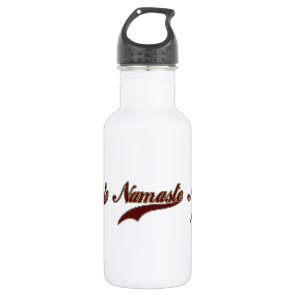 Namaste Stylish Red Burgundy Water Bottle