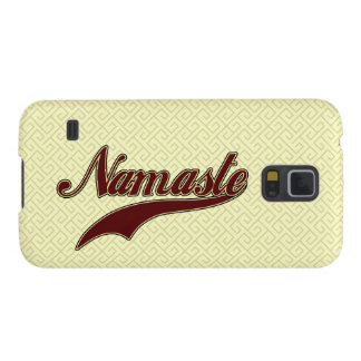 Namaste Stylish Red square spiral pattern Case For Galaxy S5
