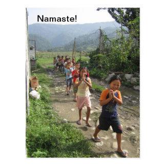 ¡Namaste! Postal