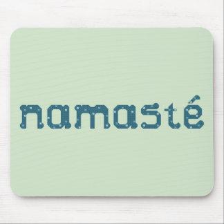 Namaste Teal Mousepad