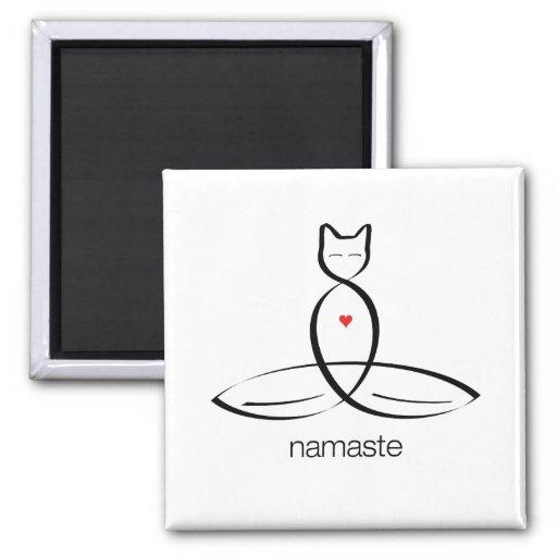 Namaste - texto regular del estilo imanes