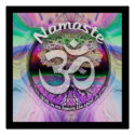 Namaste the spirit in me honors the spirit in you poster (<em>$17.75</em>)
