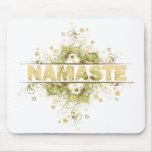 Namaste Vintage Floral Mouse Pad