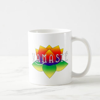 Namaste Vivid Lotus Yoga Mug