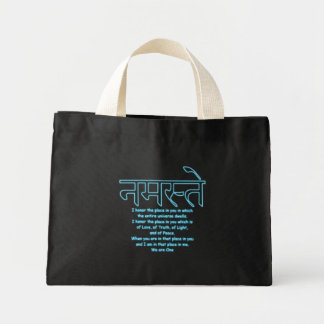 Namaste We Are One Tiny Tote Tote Bag