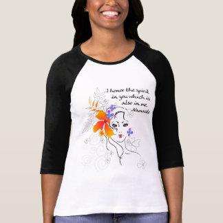 Namaste Women's T-Shirts Shirts