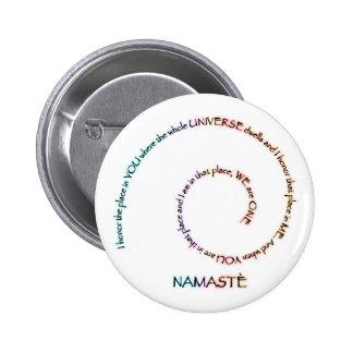 Namaste y su significado pin