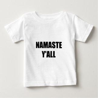 Namaste Yall Baby T-Shirt