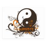 Namaste Yin Yang Postcards