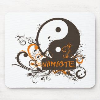 Namaste Yin Yang Tapete De Raton