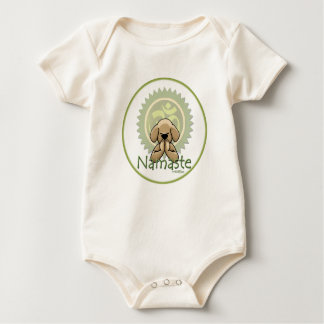 Namaste - yoga baby baby bodysuit