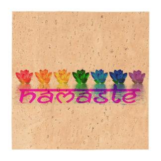 Namaste Yoga Beverage Coaster Set