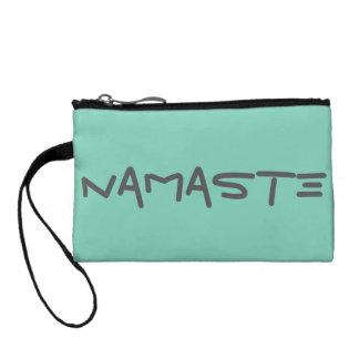 Namaste Yoga Dog Coin Clutch
