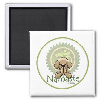 Namaste - yoga imán para frigorífico