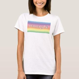 Namaste Yoga Soft Rainbow shirt