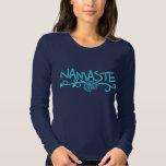 Namaste Yoga Top - Long Sleeve T Shirt