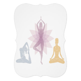 Namaste,yoga,yogi,women,chakra,chi,spiritual,zen Card