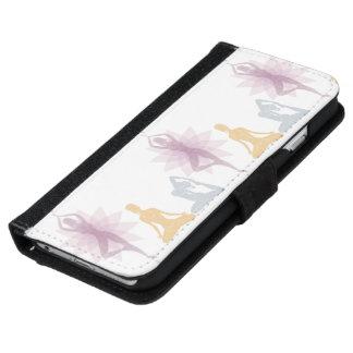 Namaste,yoga,yogi,women,chakra,chi,spiritual,zen iPhone 6/6s Wallet Case