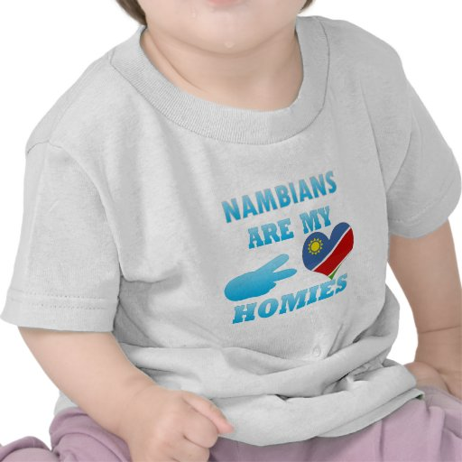 Nambians are my Homies T-shirts