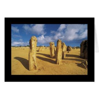 Nambung National Park Pinnacles Greeting Card