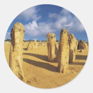 Nambung National Park Pinnacles Classic Round Sticker