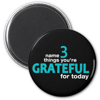 Name 3 Things... Collection 2 Inch Round Magnet