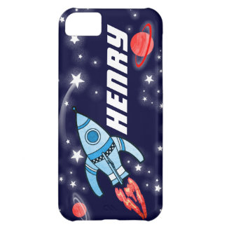 Name 5 letter rocket space navy iphone case