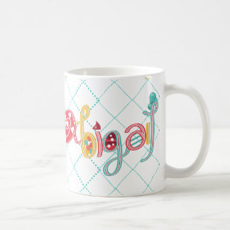 name Abigail Coffee Mug