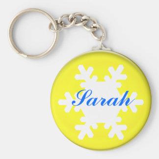 name, add text,  Sarah Keychain