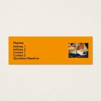Name, Address 1, Address 2, Contact 1, Con... Mini Business Card